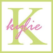 Kylie Name Monogram — Stock Photo