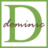 Dominic Name Monogram — Stock Photo