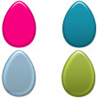 Colorful Easter Eggs Set 2 — Stock Photo #9516704
