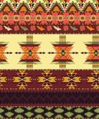 Aztec seamless pattern — Vector de stock