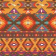 Seamless colorful aztec pattern — Stock Vector #15443139