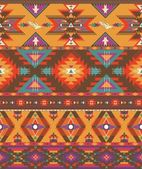 Seamless colorful aztec pattern — Stockvektor