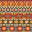 Seamless colorful aztec pattern — Stock Vector #19699669