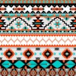 Stock Vector: Seamless navaho pattern