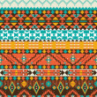 Seamless navajo geometric pattern — Stock Vector