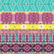 Aztec geometric seamless pattern — Stock Vector #23403832