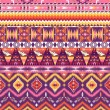 Aztec geometric seamless pattern — Stock Photo