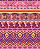 Aztec geometric seamless pattern — Stock Photo
