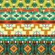 Aztec geometric seamless pattern — Stock Vector #34589139