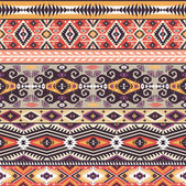 Ethnic print  pattern background — Stock Photo