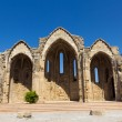 Romanic basilica ruins of Rhodes — Stock Photo