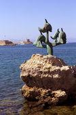 Rodos liman — Stok fotoğraf