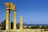 Temple of Apollonas — Stock Photo