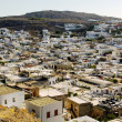 Stockfoto: View of Lindos City