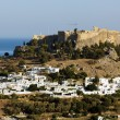 View of Lindos City — Stock Photo