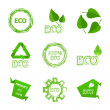 Stock Vector: Ecology icon set