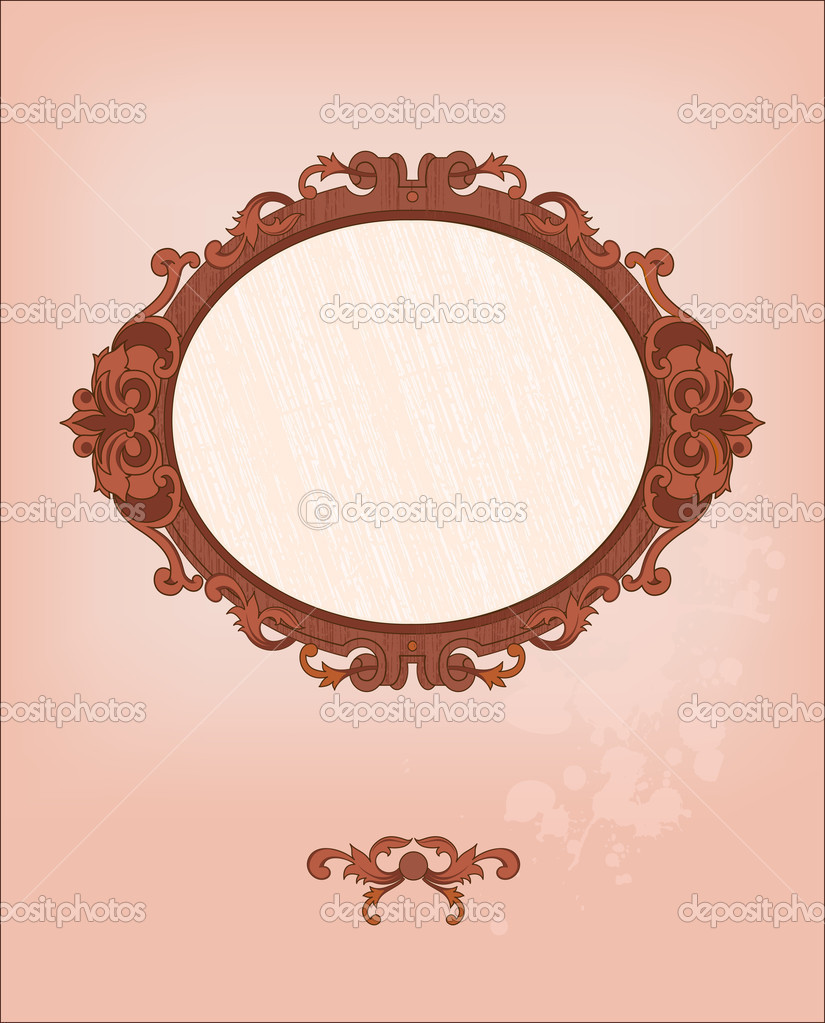 Romantic frame — Vettoriali Stock  #20393151