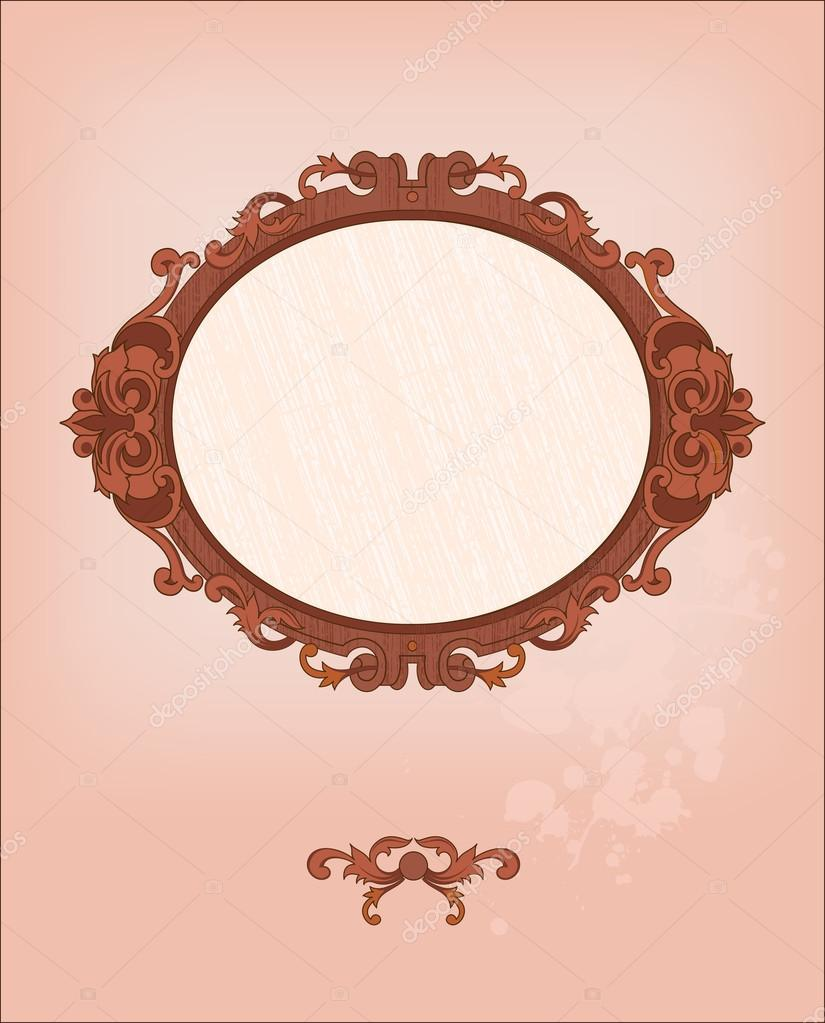 Romantic frame — Stock Vector #20393151