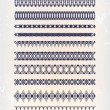 Set pattern — Stock Vector