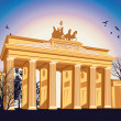 Brandenburg gate — Stock Photo #23212704