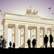 Royalty-Free Stock Vector Image: The Brandenburger Tor
