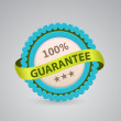 Single label of guarantee — Stock Vector #27934403