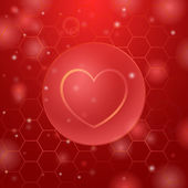 Medicine love — Stock Vector