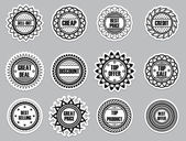 Set sticker for Selling — Stock Vector
