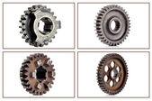 Engineering gears — Stock Photo