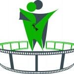Film award logo — Stock Vector