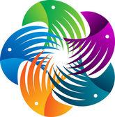 Eagle logo — Stock Vector