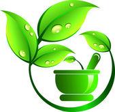 Ayurveda medicine — Stock Vector