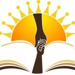 Bright education logo — Stock Vector
