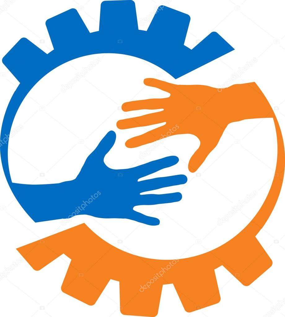 A Helping Hand logo design  48HoursLogocom
