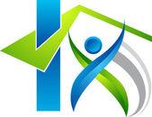 Builders logo — Stock Vector