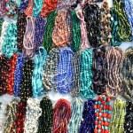 Gemstone necklaces — Stock Photo
