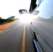 Snelheid auto — Stockfoto