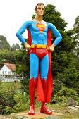 Super człowiek statua — Zdjęcie stockowe