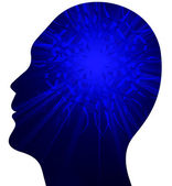 Human power brain — Stock Photo