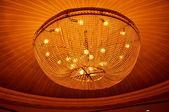 Modern chandelier light — Stock Photo