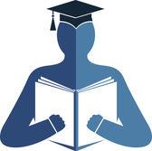 Education logo — Stock Vector