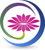 Lotus logo — Stock Vector