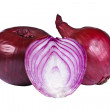Group of onion bulbs - Stock Photo
