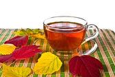 Transparent tasse de thé — Photo