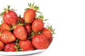Juicy ripe strawberries — Stock Photo