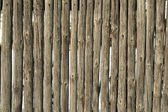 Old fence poles — Stock Photo