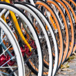 Bicycles in the town of Copenhagen, Denmark — Stock Photo #15348011