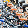 Bicycles in the town of Copenhagen, Denmark — Stock Photo #15348001