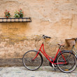 Stock Photo: Bicycles in the town of Copenhagen, Denmark