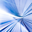 Abstract colorful metro tunnel blur — Stock Photo #15348285